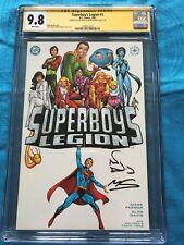 Superboy's Legion #1 - DC - CGC SS 9.8 NM/MT - Signed by Alan Davis, Mark Farmer