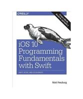 Matt Neuberg iOS 10 Programming Fundamentals with Swift