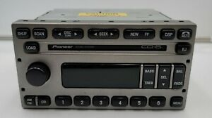 Ford Pioneer 6 CD Radio MACH Audio OEM Explorer Sport Trac 2002 working pull.