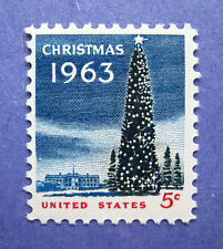 Sc # 1240 ~ 5 cent National Christmas Tree & White House Issue (cd5)