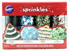 WILTON 'Sprinkles' Holiday Sprinkles Set zum Verzieren 493 gr Original aus USA