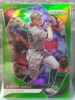 AARON JUDGE NEW YORK YANKEES ALL-STAR 2020 PANINI PRIZM GREEN PRIZM SP 051/125