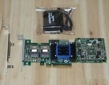 adaptec controller raid 6805t 8 ports PCIE 2 x8 512 Cache ddr2 +BBU The battery