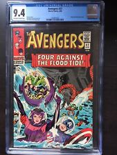 AVENGERS #27 CGC NM 9.4; OW-W; Kirby cover!