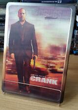 CRANK 2-DVD LIMITED EDITION STEELBOOK 3D COVER  JASON STATHAM UN-CUT