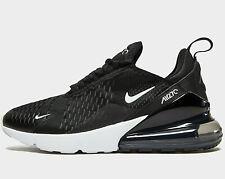 Authentic Nike Air Max 270 Women ® ( UK Sizes: 3 & 7.5 ) Black / White NEW