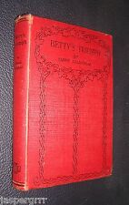 BETTY'S TRIUMPH. EMMIE ALLINGHAM. c1920s. HARDBACK GIRLS STORY.