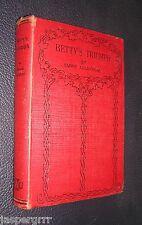 BETTY'S TRIUMPH. EMMIE ALLINGHAM. c1920s. HARDBACK GIRLS STORY.