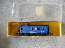 Vintage N Scale AHM Minitrains Great Northern Caboose Car in Box 4290