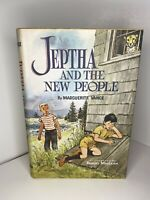 Children's Book Club Jeptha and the New People by Marguerite Vance 1ST EDition