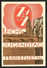German JUGENDTAG 1928 Youth Day Celebration Frankfurt A/M ~ RECENT Arrival!