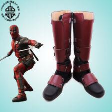 Original Deadpool Superhero Boots Wade Wilson Shoes High Quality Cosplay Custom