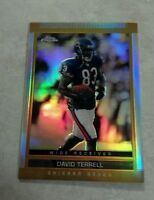 DAVID TERRELL 2003 TOPPS CHROME REFRACTOR # 81 A4606