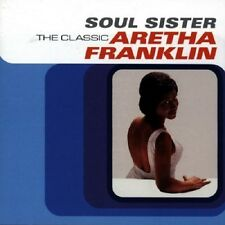 Aretha Franklin Soul Sister CD NEW SEALED Walk On By/My Guy/Misty/Unforgettable+