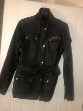 Ladies Black Barbour Jacket Size 8