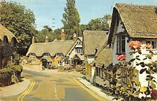 B103560 the old village shanklin isle of wight    uk