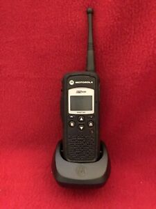 Motorola DTR650 Dtr 650 Digital Portable 2 Way Radio 900MHz Talkie With Charger