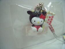 SANRIO Hello Kitty Strap /Key Chain  Miyagi sendai Cow  design  from Japan