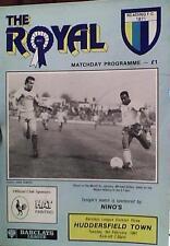 Lectura V Huddersfield Town 90-91 de la Liga coinciden con inserción de 4 páginas