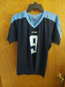 NFL Tennessee Titans Steve McNair #9 Champion Home Jersey Youth Large (14-16)