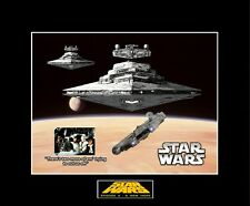 "STAR WARS 8"" x 10"" ANH Escape from Docking Bay 94 - 11"" x 14"" Black Matted"
