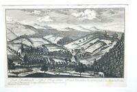 Kupferstich Ober Krumbach Landpfleg Amt von Christoph Melchior Roth um 1760