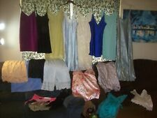 Vintage 20 Pc Lot 2nds, Repair Slips Nighties Cami Panty Lingerie #1