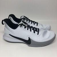 Nike Kobe Mamba Focus TB Basketball Shoes Men's White/Black/Grey Size 8