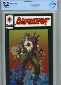 NM- Bloodshot #1 (1993) CBCS 9.2 1st Chromium Cover