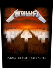 Metallica - Master Of Puppets - Sew-On Back Patch