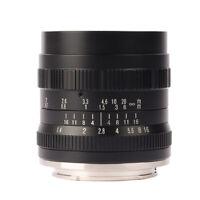 Brightin Star 50mm F1.4 Manual Fixed Lens For Sony Fuji Panasonic Mirrorless
