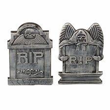 Halloween Surtido Lápidas pequeño decoración fiesta Descansa en paz cementerio