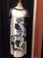 Gerard Darel Patterned Front Shift Dress