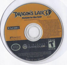 Nintendo GameCube Game Dragon's Lair 3D Return To The Lair Rare and HTF