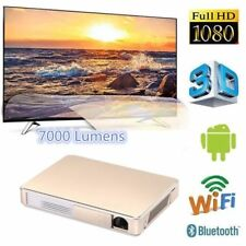 DLP 7000 Lumens Android Wifi 3D Theater Projector 4K HD 1080P Home Cinema