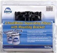"Sierra Filter Kit w-Bracket - Comes w-1 Spare FILTER, 1/4"" 18-7852-2 Marine MD"