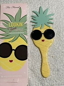 Too Faced❤Pineapple Makeup Mirror Handheld❤Lookin Fine Apple❤Free Shipping