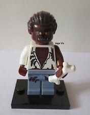 Légo 8804 Minifig Figurine Série 4 Werewolf  + socle