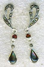 Butterfly Natural Amethyst Fine Earrings