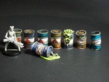 28mm  Pro painted Fallout Barrels  Post apocalypse,Zombie Apocalypse Terrain