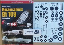 Messerschmitt Bf 109 A-D models - TopDrawings, KAGERO + Decals