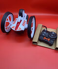 RC Max Rumbler Radio Controlled Car ~ White ~ Echo Technologies ~ with Remote-Z