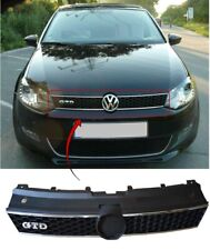 Vw Polo Gtd 2009-2014 Front Centre Main Grille With Chrome Trim Moulding New