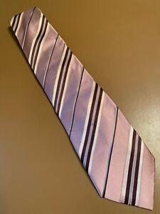 """Euc Canali Thick Champaign Multicolor Silk Tie Men's Made In Italy 60"""" 3.75"""""""