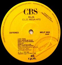 "ELO ELECTRIC LIGHT ORCHESTRA Mega-Hits - 12"" 45 MAXI Spain Spanish 1990 Promo"