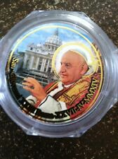 Rosary 2 Popes:  Pope Giovanni XXIII & Pope John Paul II rose scented, New Italy