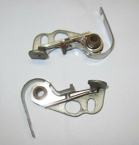 1930 Buick Dual Point Distributor Points. OEM  #813238. NOS Delco Remy Set of 2