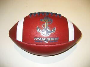 "2019 Navy Midshipmen ""Anchor"" Logo Team Issue GAME BALL Football University"