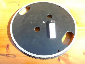 Neuer Plattenteller m. Stropuscopring, 31cm / 21cm,NOS,DIY Projectplattenspieler