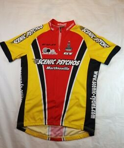 Verge Sport Unisex Cycling Jersey Size Large 22.5 in. Width and Length 30 in.